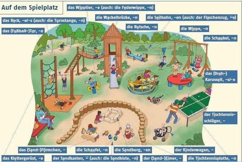 német játszótér spielplatz